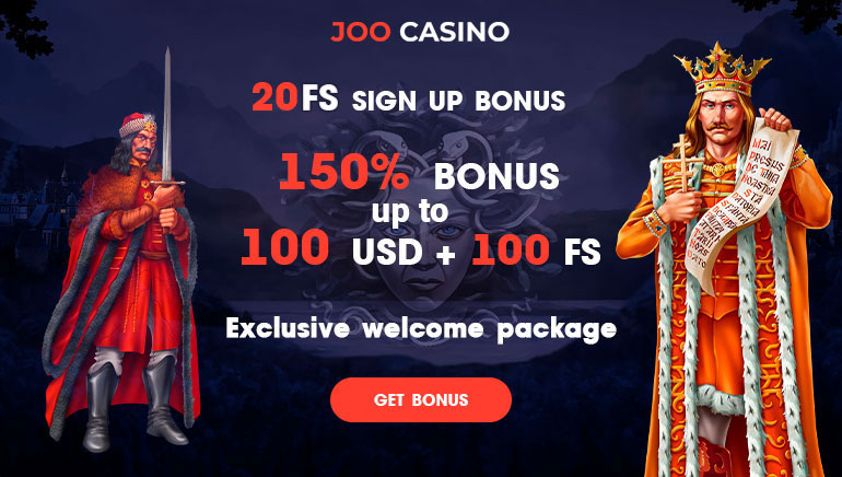 Joo Casino - বোনাস প্যাকেজ $450 + ফ্রী স্পিন বোনাস 150 ফ্রী স্লট বোনাস + বিনা জামানত FS20 ফ্রী অর্থ বোনাস